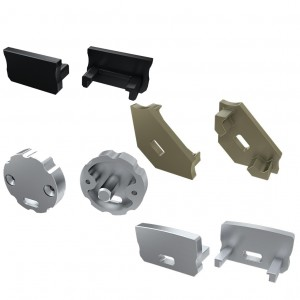 Aluminium profiles accessories