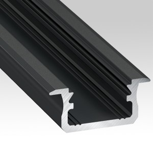 Flushed LED aluminium profiles