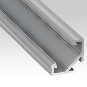 Aluminium profiles for corners