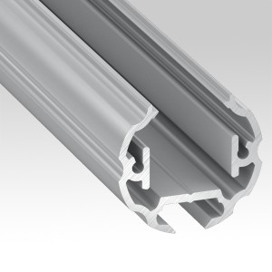 Round LED aluminium profiles