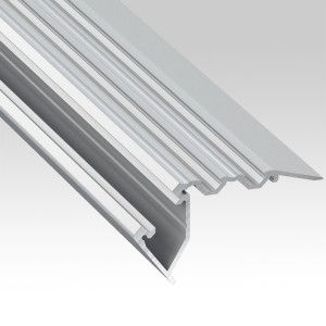 Aluminium profiles for stairs