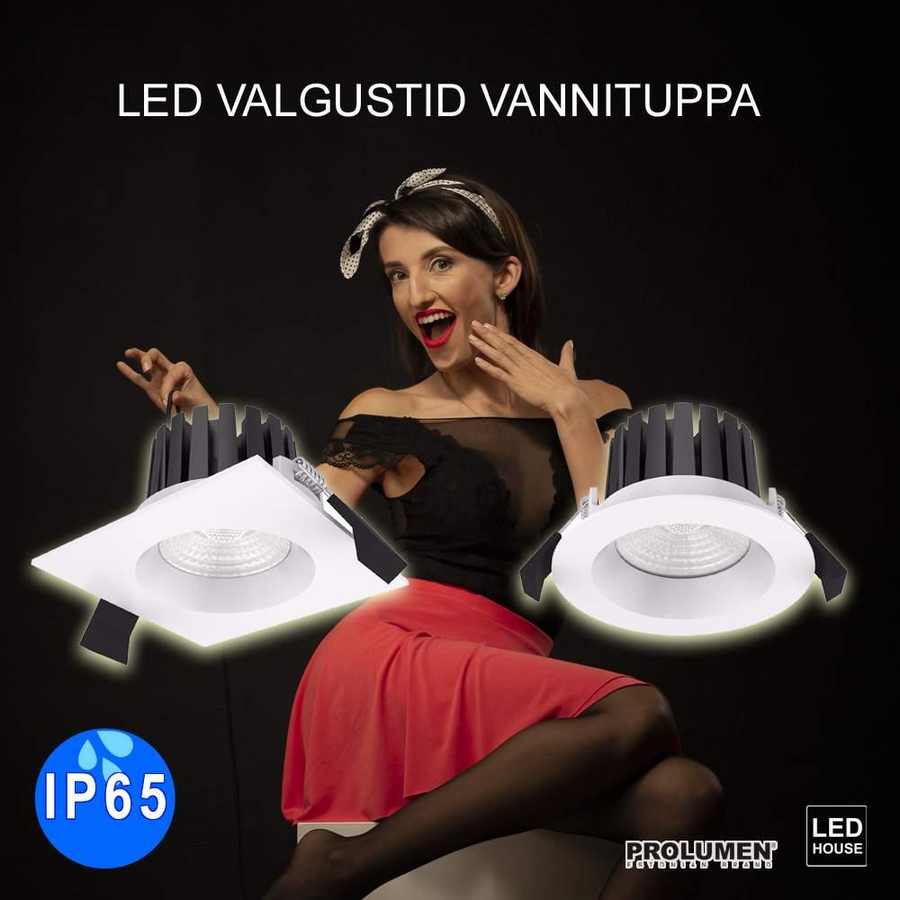 LED valgustid vannituppa