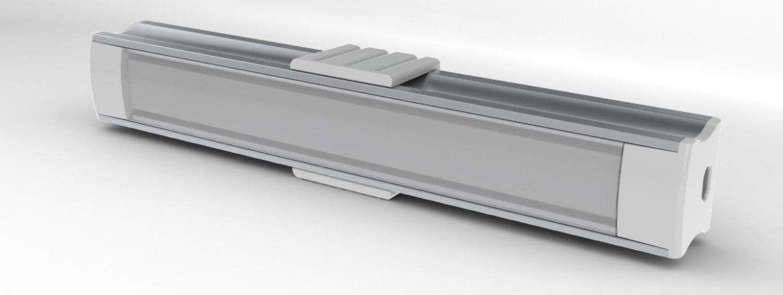 Alumiiniprofiili  ALU SlimLine 15mm 2m