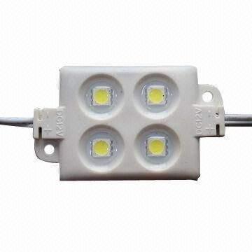 LED module  4 x SMD 5050 12V  1,44W 70lm  120° IP65 pure white 4000K