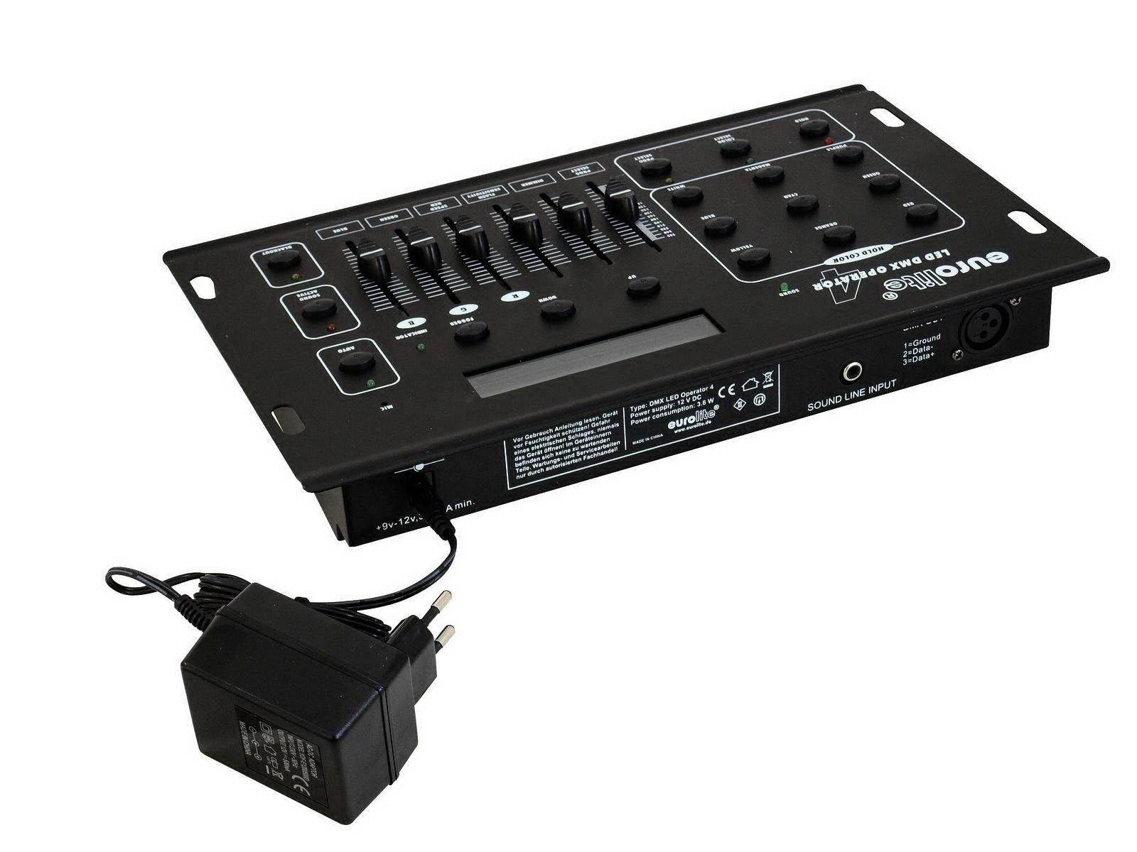 Valguspult  EUROLITE DMX LED Operator 4 controller