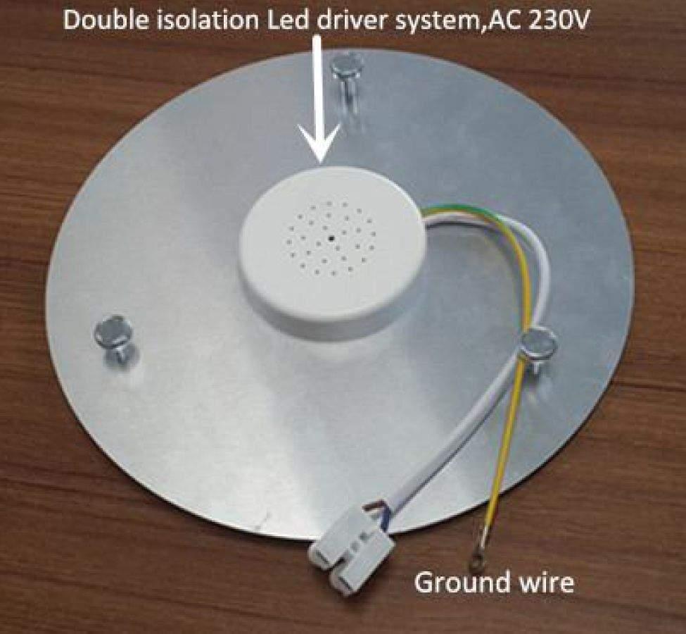 LED Plafooni moodul PROLUMEN Round valge  10W 850lm  päevavalge 4000K