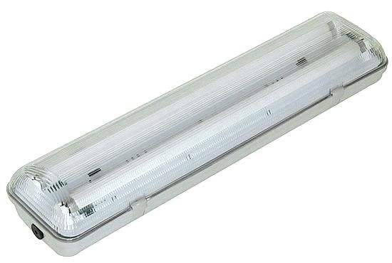 Lamp housing Lamp housing INTELIGHT T8 2 x 60 for LED tube   IP65