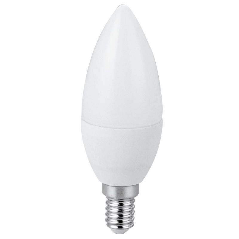 LED bulb A5 37 candle white  7W 490lm E14 270° IP20 warm white 3000K