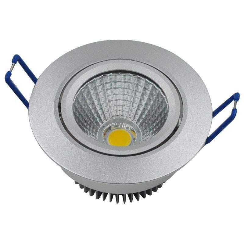 LED downlight  DS DIM  05W 420lm  60° warm white 3000K