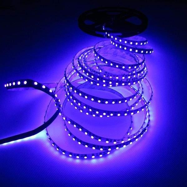 LED полоска 3528 60LED 1m 12V  4,8W  120° UV
