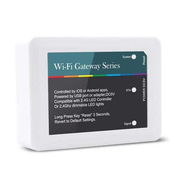 LED Riba pult + juhtplokk  WiFi-203 2.4Ghz Gateway