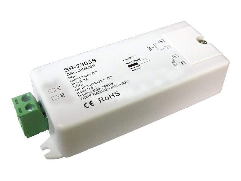 Vastuvõtja SR-2303S 1x8A DALI juhtimine  96-288W