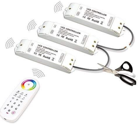 Receiver LTECH LT R4 4x5A 2.4GHz 5-24V  240W/480W