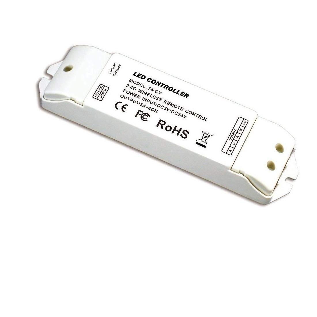Приемник Приемник LTECH T4-CV 4x5A  5-24V 240W/480W