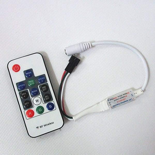 LED Riba pult + juhtplokk PROLUMEN Mini Digital WS2812 5V