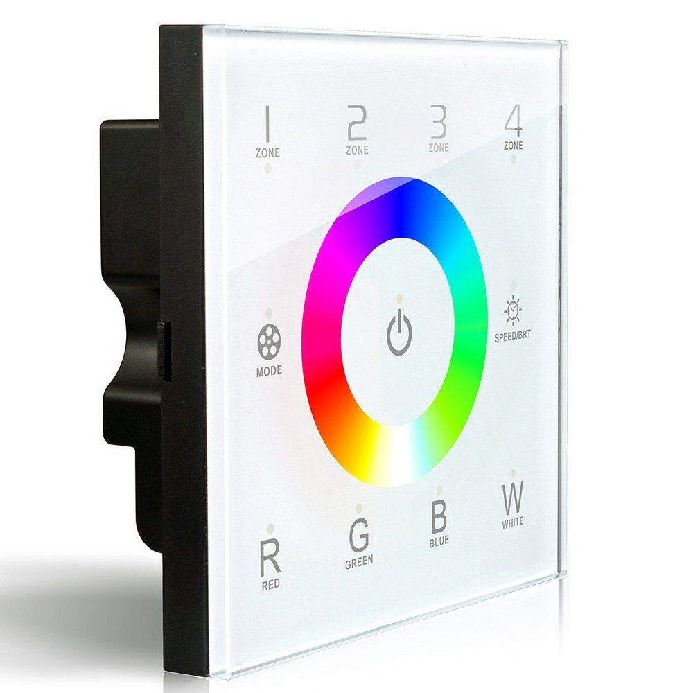 Juhtimispaneel LTECH DX8 4 tsooni,  2.4GHz + DMX512 valge   RGBW