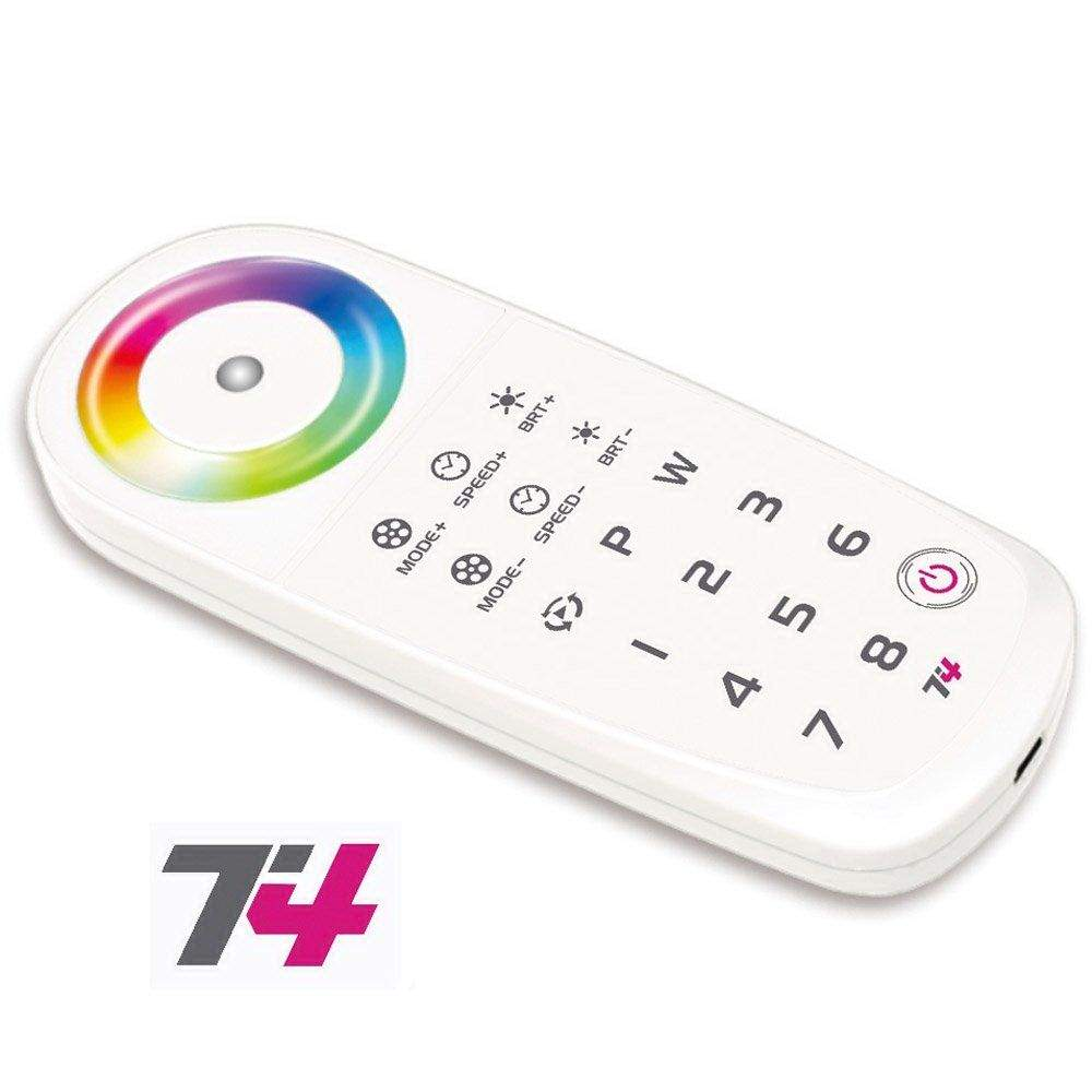 Panel LTECH T4 RF 2.4GHz RGBW Touch remote control 5V white