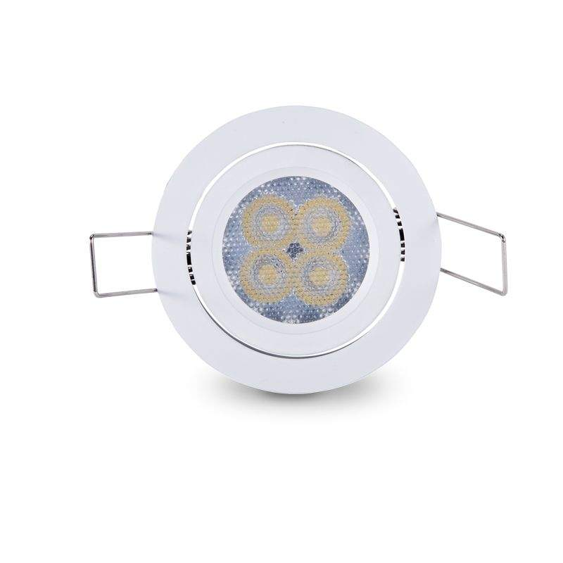 LED downlight PROLUMEN SIMPLEE SEMI DIM white round 8W 400lm CRI85 70° 3000K warm white