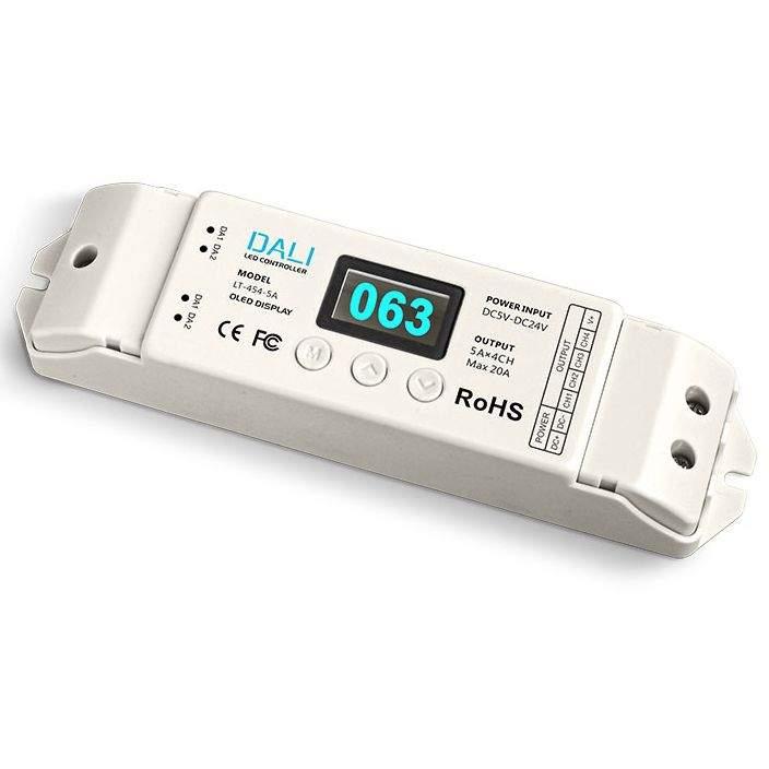 DALI LTECH 4 X 5A Dimming Driver 5-24V  240W/480W