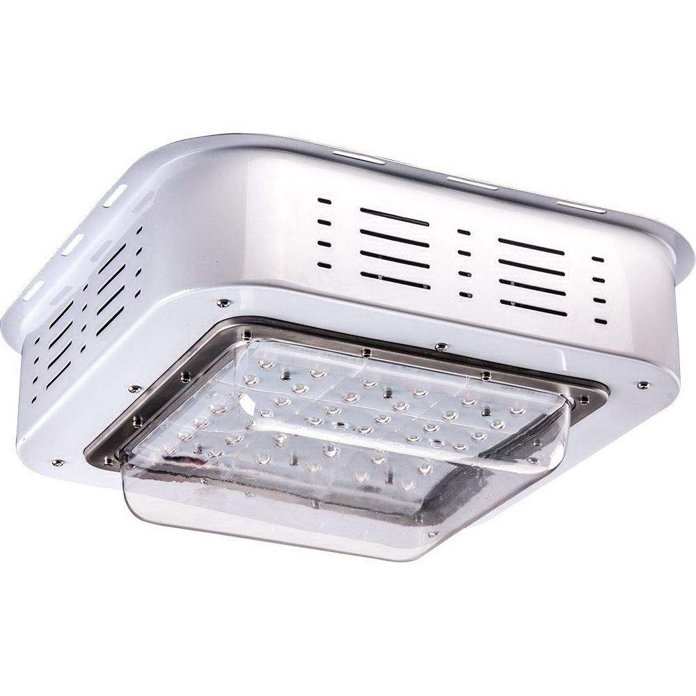 LED light for filling stations PROLUMEN YZD  100W 9500lm  110° IP66 pure white 4000K