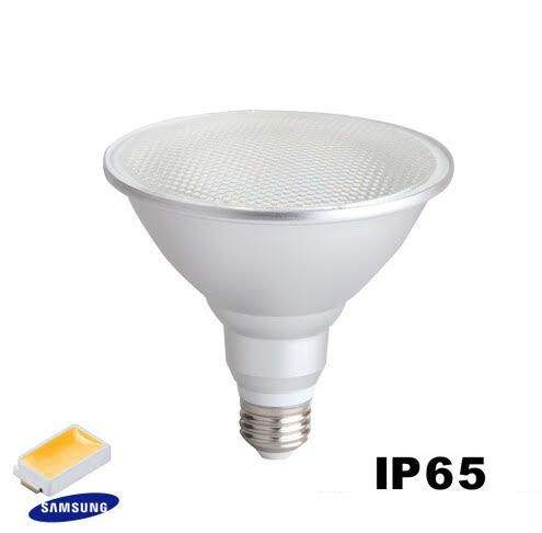 LED bulb PAR38  15W 1300lm  IP65 pure white 4000K