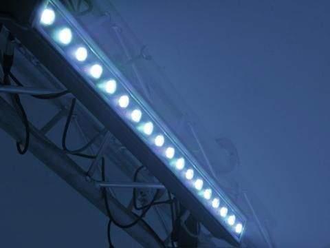 LED линейчатый светильник LED IP T1000 TCL 18x3W 15° черный  60W  15° RGB