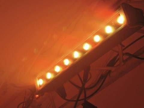 LED линейчатый светильник LED IP T500 TCL 9x3W 15° черный  30W  15° IP65 RGB