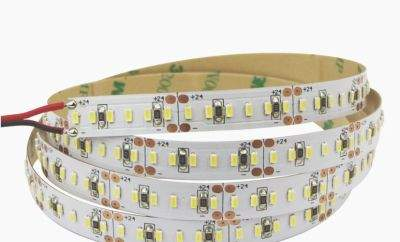 LED полоска 2216 060LED 1m 7lm/LED 24V  4,8W 360lm  120° теплый белый 2700K