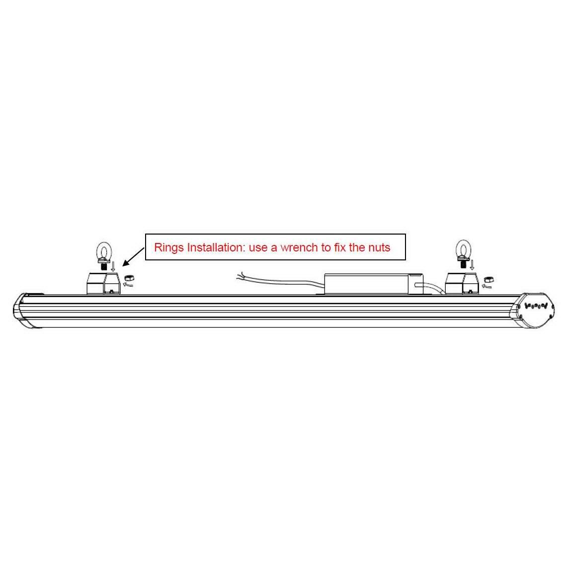 LED Tööstusvalgusti PROLUMEN T10  180W 26000lm  120° IP65 päevavalge 4000K