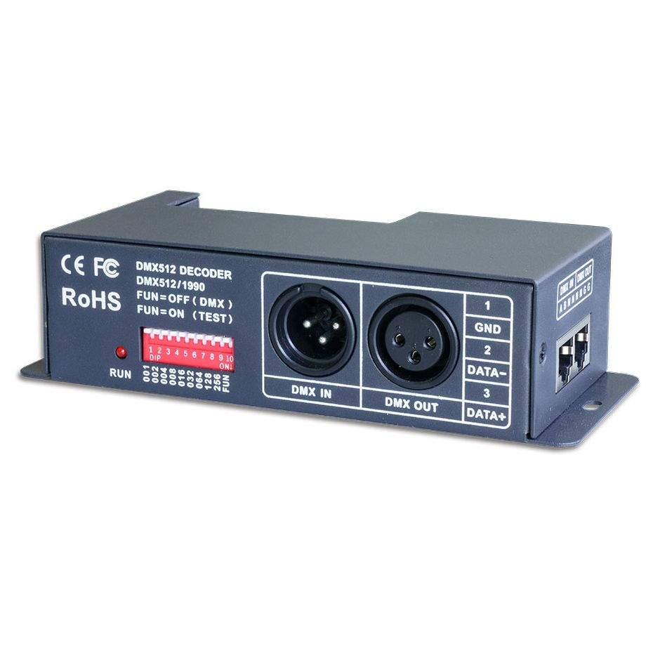 DMX Dimmer LTECH LT-840 4 kanalit 4x6A 5-24V  120W/288W/576W
