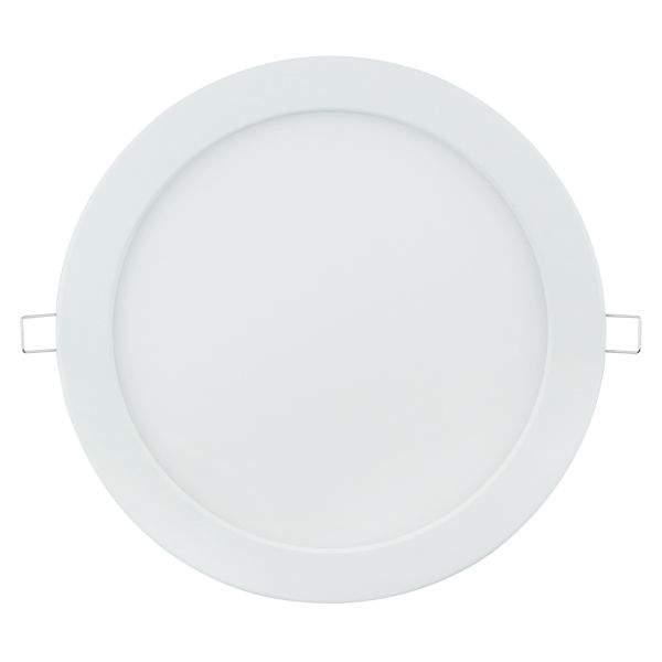LED панель E6 белый круглый 20W 1370lm  160° IP20 теплый белый 3000K