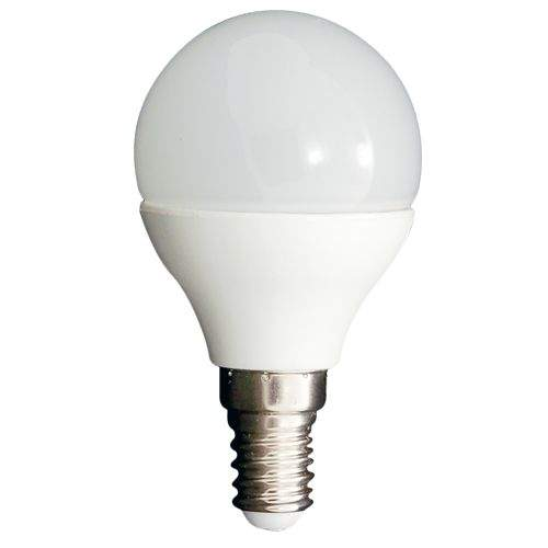 LED bulb A5 G45B white  4W 310lm E14 280° IP20 warm white 3000K