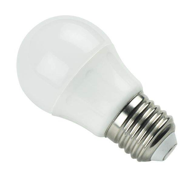 LED bulb A5 G45 white  6W 470lm E27 280° IP20 cold white 6500K
