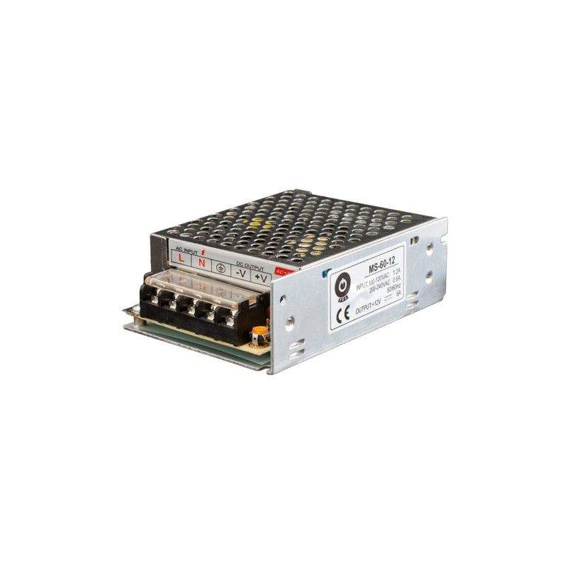LED power supply unit LED power supply unit POS POWER 12V DC POS-60-12  60W  IP20