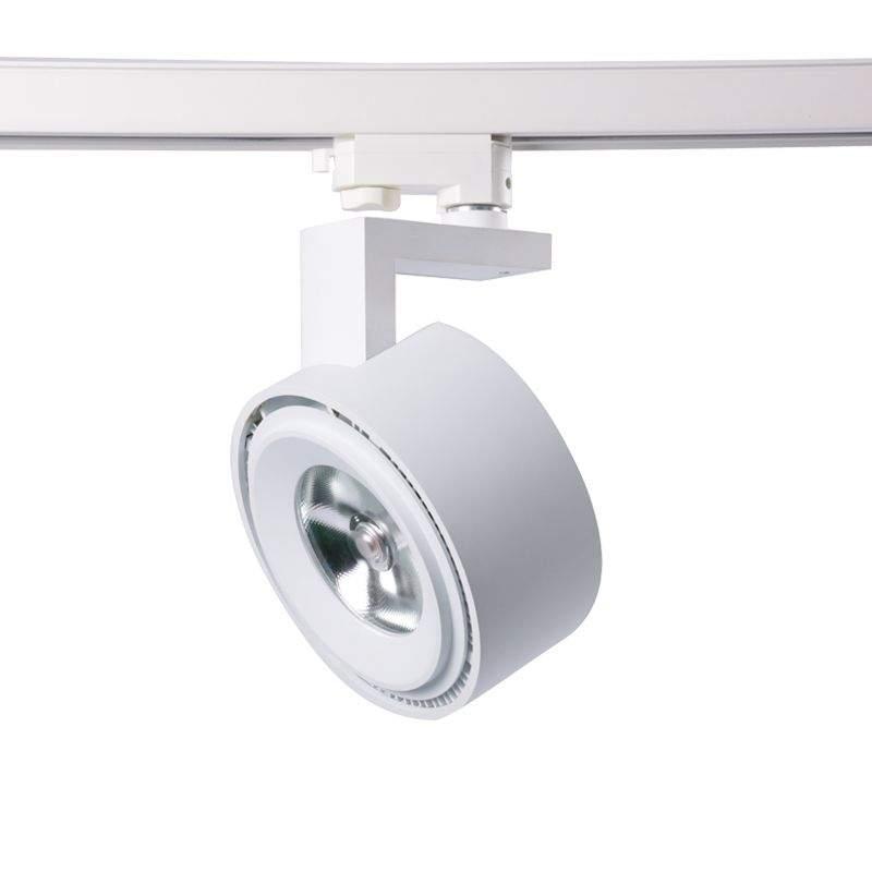 LED-kiskovalaisin PROLUMEN New York valkoinen 230V 30W 2738lm CRI80 24° 4000K päivänvalkoinen