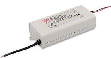 LED Driver 1050mA Mean Well PCD-40-1050B 34-57V  40W  IP42