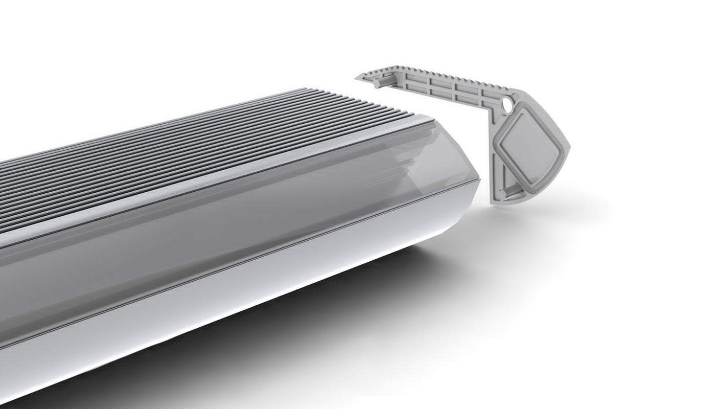 Алюминиевый профиль  ALU Stair 2m
