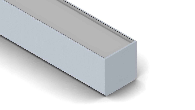 Alumiiniumprofiil SPL35 hõbedane