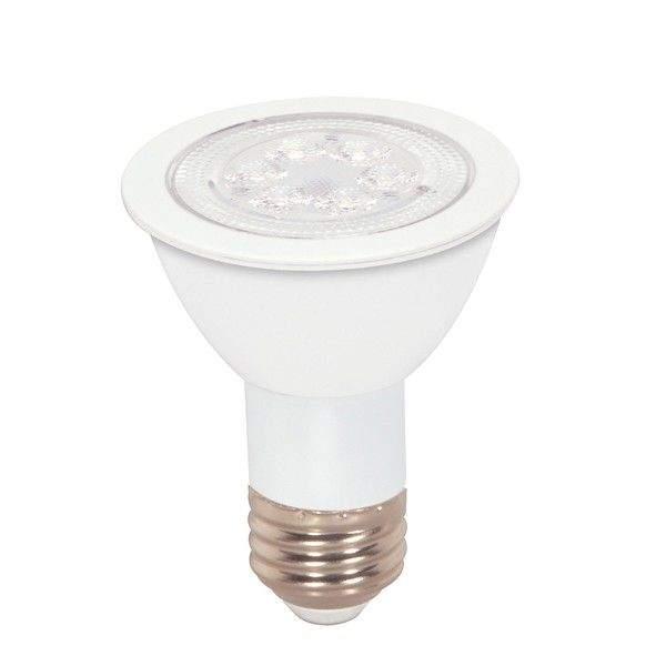 LED Pirn LED PAR20  8W 600lm E27 35° soe valge 3000K