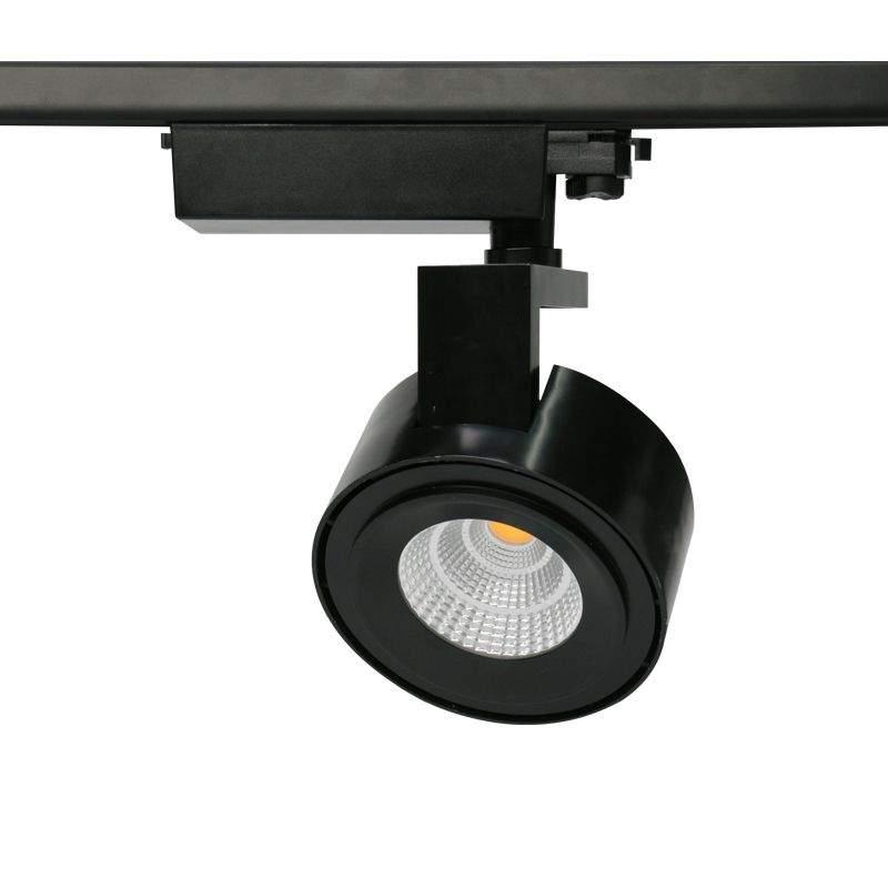 LED светильник на шине PROLUMEN Milan (DALI) черный круглый 50W 4095lm  38° теплый белый 2700K