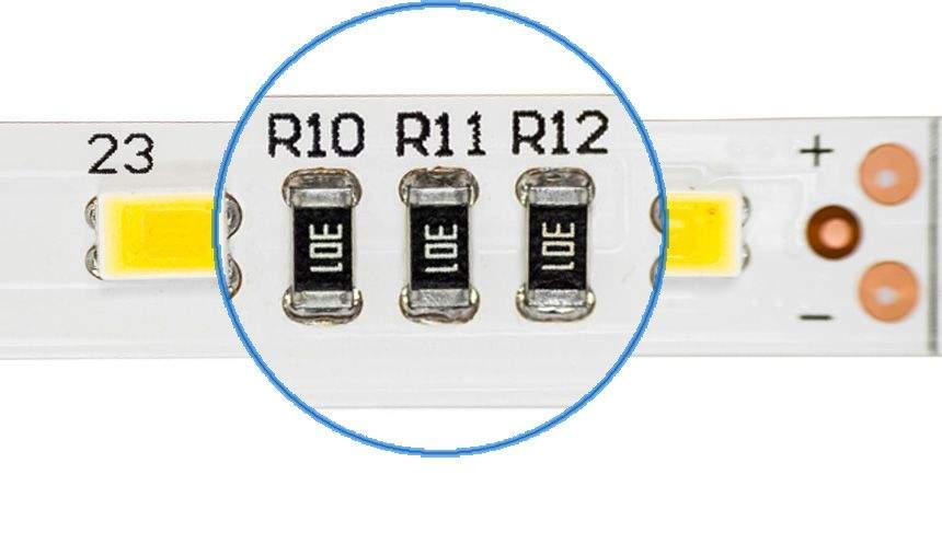 LED полоска OSRAM DURIS E5 1m 24V  15,6W 2100lm  120° IP20 теплый белый 3000K