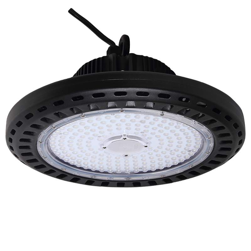 LED warehouse light UFO black  100W 13000lm  120° IP65 pure white 4000K