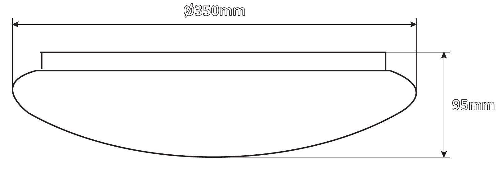 LED Plafoon  NX liikumisanduriga valge  24W 1440lm  120° IP20 päevavalge 4000K