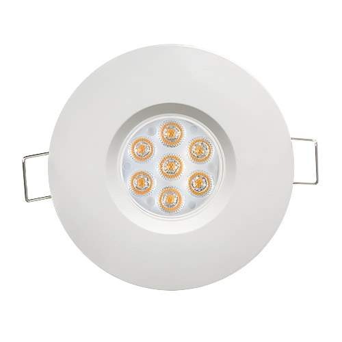 LED downlight LED downlight  Ul white round 6.5W 560lm CRI80 45° IP44 2700K warm white