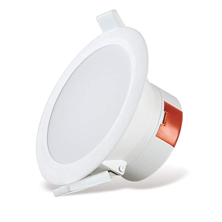 LED downlight LED downlight AIGOSTAR E5 WAVE DOWN LIGHT white round 10W 850lm CRI80 90° IP44 4000K pure white