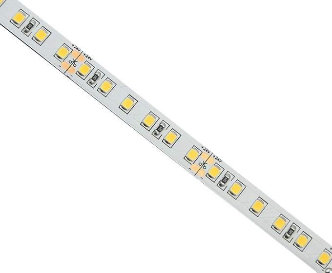 LED полоска 2835 140LED 1m 24V  14,4W 1950lm  120° IP20 теплый белый 3000K