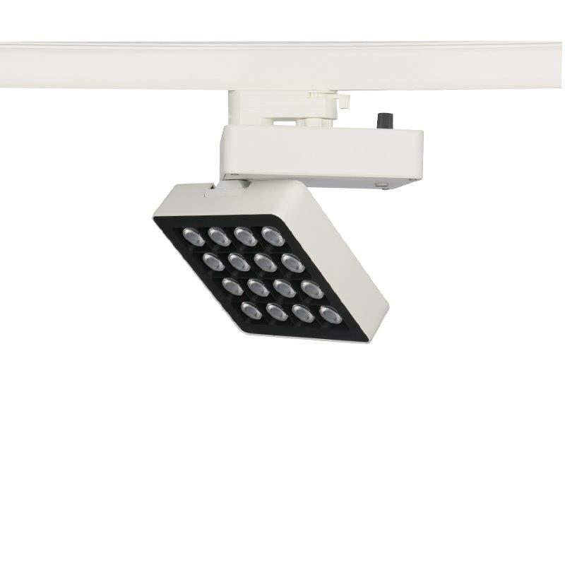 LED track light PROLUMEN London white 230V 30W 3200lm CRI80 40x20° IP20 4000K pure white