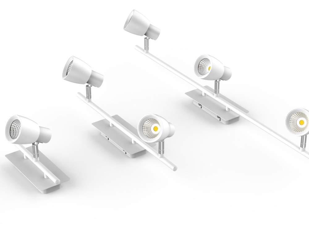 LED kattovalaisin Taipei valkoinen  3x10W 2200lm  IP20
