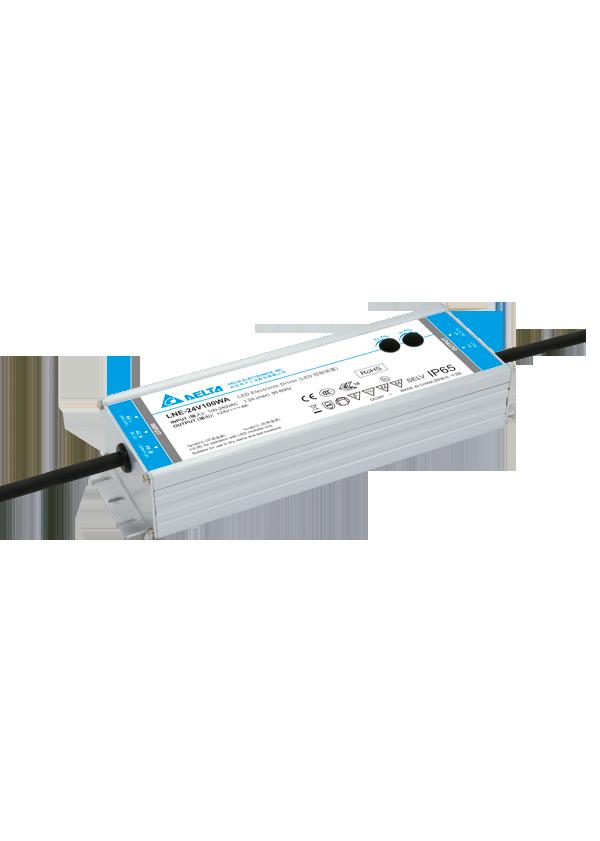 LED Toiteplokk 24V DC DELTA LNE-24V100WACA  96W  IP65