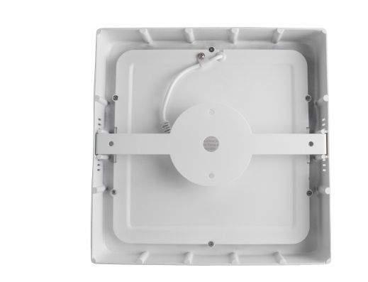 LED Pinnapealne laevalgusti E6 valge ruut 9W 480lm  160° IP20 päevavalge 4000K